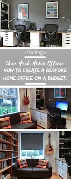 diy fitted home office furniture. Interesting Diy Ikea Hack Home Office  Study  How To Create A On Budget With Diy Fitted Home Office Furniture L
