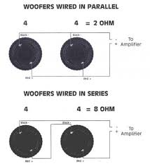 subwoofer wiring diagram 4 ohm images wiring subwoofers whats all two 4 ohm dual voice coil subs wired at a