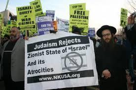 Judaism Oppose Zionist State