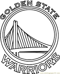 golden state warriors coloring page