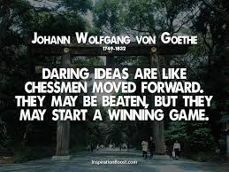 Goethe Quotes Simple Johann Wolfgang Von Goethe Moving Forward Quotes Inspiration Boost