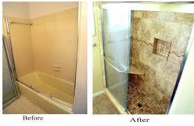 diy shower remodel diy remodel shower stall