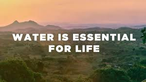 For Life Water Wells For Africa Water Is Essential For Life Youtube