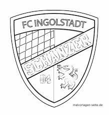 Sjabloon Logo Fc Ingolstadt 04 Gratis Kleurpaginas Om Te Downloaden