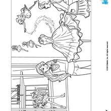 Small Picture Barbie and her glitter dresses coloring pages Hellokidscom
