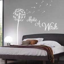 Bedroom Wall Quotes Stunning Wall Decorating Solutions With Bedroom Wall Stickers