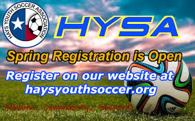 North Texas Soccer Age Chart Hays Youth Soccer Association