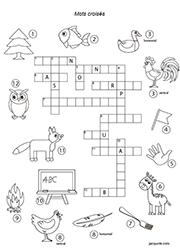 Des heures de plaisir et d'amusement avec des centaines de petits jeux à imprimer : Mots Croises Jacquote Jeux En Ligne