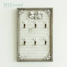 Decorative Key Boxes Miz Home 100100 Cm Vintage Style Original Design Wooden Resin 14