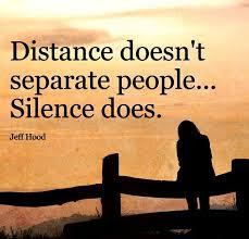 separate people. distance doesn\u0027t separate people. people d