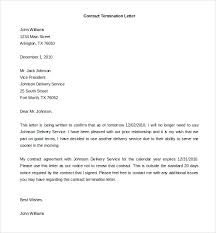 Letter Of Dismissal Template Awesome Sample Termination Of Contract Letter Employment Netdevilzco