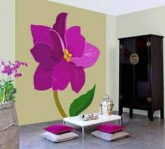 wall painting ideas25 Ideas for Spring Decorating with Flowers on Walls
