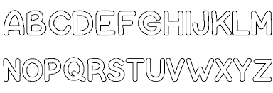 Bubble Letters Font Bubble Letters Font Download Free Fonts Download