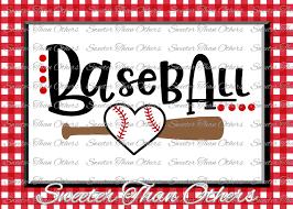 Vinyl Baseball Shirt Designs Baseball Svg Love Softball Htv Tshirt Design Vinyl Svg And