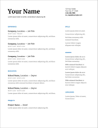 Modern Resume Template Google Docs Screenshot Docs Google Com Basicesume Template Doc In