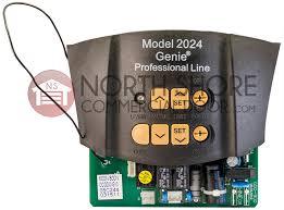 genie garage door opener 37028a s controller circuit board