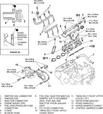 2004 mitsubishi endeavor engine diagram vehiclepad 2008 ford taurus x 3 5l mfi dohc 6cyl repair guides engine