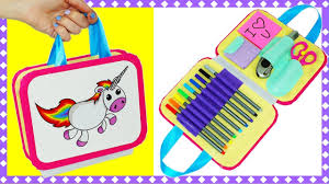 easy diy crafts how to make bag organizer pencil case tutorial