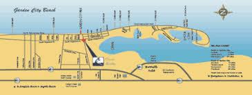 garden city sc. Map Of Myrtle Beach, Garden City Beach Sc