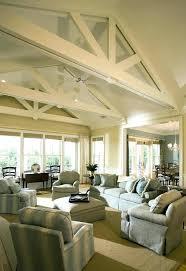 ceiling beams in living room white ceiling beams vaulted ceiling beams living room beach style with
