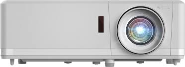 <b>Optoma ZH406</b> 1080p Laser Projector, White Chassis | Touchboards