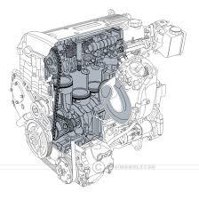 Technical illustration beau and alan daniels generic car engines