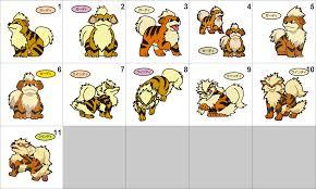 Growlithe Evolution