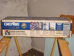 genie intellicode garage door opener how to program