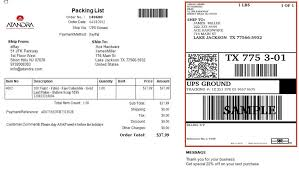 Integrated Shipping Labels And Packing Lists | Speed-Up Shipping
