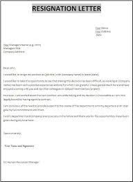 Letter Of Resignation Sample Letter Of Resignation From Teaching Position Sample