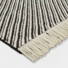 white and black rug stunning chevron woven area project 62 target interior design 14