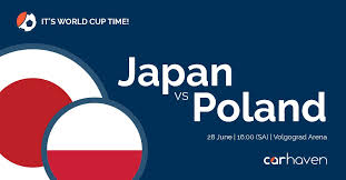 Japan Must Beat Poland To Guarantee A Place In The World Cup