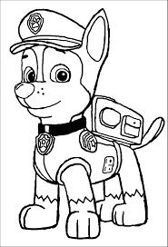 Rubble Paw Patrol Coloring Page Best Of Paw Patrol Chase