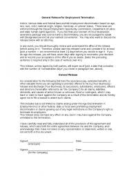 Careful Signing Employment Contract. Printable Termination Letter ...