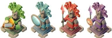 Znalezione obrazy dla zapytania boom beach statues
