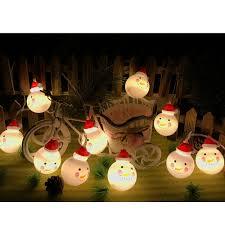 Indoor Snowman Lights Jian Ya Na Fairy String Lights Christmas Indoor Decorations