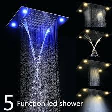 rain heads for shower photo show luxury ceiling rain shower heads rain shower heads pros and