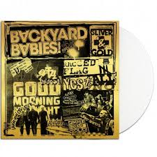 <b>Sliver</b> & Gold LP (White) | <b>Backyard babies</b> merch