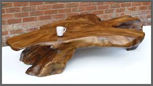 windinghouse interiors projects harrer rustic lodge teak root iron abstract coffee table tree