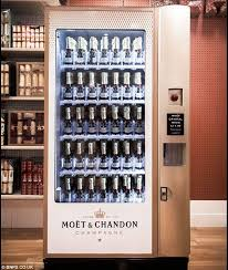 Moet Champagne Vending Machine