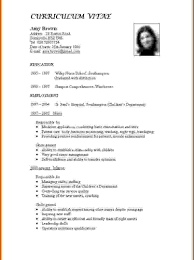 How To Make A Resume For A Job Stunning How To Make Resume Format Write Good L Cv With Microsoft 15
