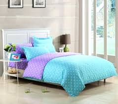 blue and purple bedding 1