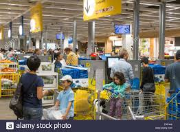express checkout till ikea furniture store at rhodes shopping centre FAF446