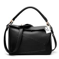 Yoome <b>Women's</b> Faux Leather <b>Casual Tote Bag</b> Boston Shoulder ...