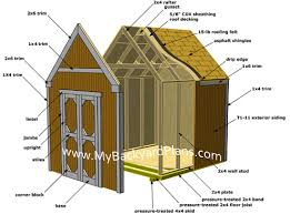 garden sheds plans. How To Build A Gable Storage Shed, Pictures And Step By Instructions. Garden Sheds Plans