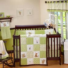 4 Piece Winnie The Pooh Nursery Bedding