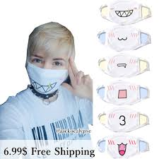 Cute Mouth Mask Designs 13 Designs Emoji Emoticons Dust Face Mask Sp141360 From Spreepicky