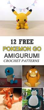 Free Pokemon Crochet Patterns