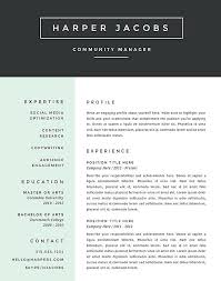 Best Looking Resume Format The Best Looking Resume Putasgae Info