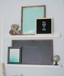 ways to decorate an office. DIY Picture Ledge, Adding Wall Art The Easy Way! Ways To Decorate An Office